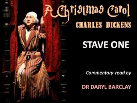 A Christmas Carol - Charles Dickens: Commentary on Stave One read by Dr Daryl Barclay - YouTube