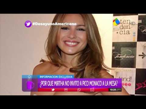 Pico Mónaco habló de los celos de Pampita por una modelo