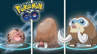 La MEJOR EVOLUCIÓN de MAMOSWINE con +3300 PC, 100% IV y con PODER PASADO en Pokémon GO [Keibron]