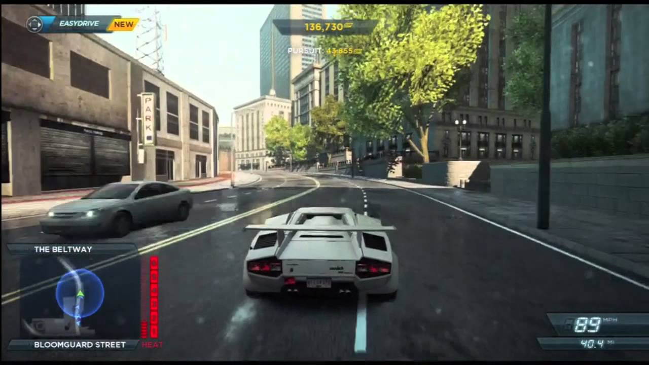 need for speed most wanted lamborghini countach level 6 heat pursuit nfs00. Black Bedroom Furniture Sets. Home Design Ideas