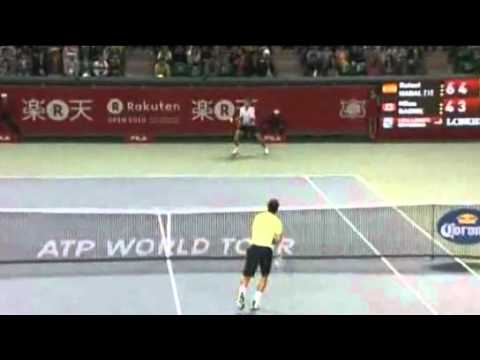 Rafael Nadal VS Milos Raonic RAKTEN JAPAN OPEN