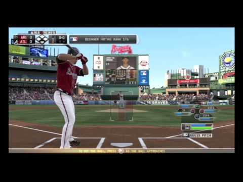 MLB 13 The Show| Live First impression| Atlanta Braves v.s. Arizona Diamondbacks