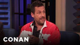Adam Sandler's Daughter Had A Star-Studded Bat Mitzvah - CONAN on TBS