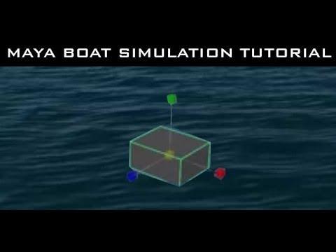 Maya Tutorial for Beginners - Create Floating Object in an Ocean