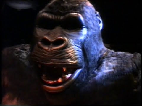 King Kong - Universal Studios - Hollywood - 1994 video