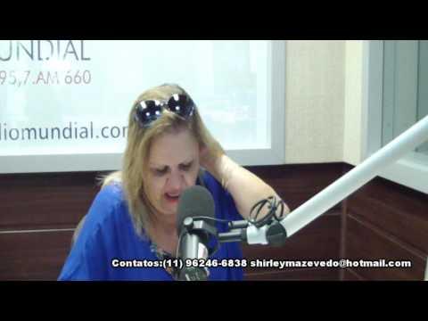 Brasil Cigano,Cigana Shirley de Azevedo,Radio Mundial,27-01-2016