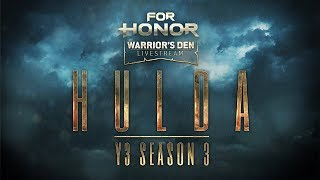 For Honor: Warrior's Den LIVESTREAM August 15 2019 | Ubisoft [NA]