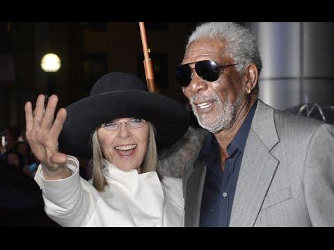 Diane Keaton and Morgan Freeman discuss their on-screen chemistry at TIFF