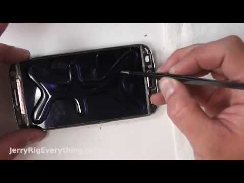 BEST Galaxy S4 Loca UV glue glass repair video