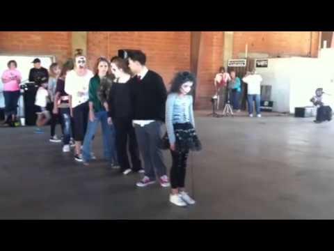 Austin dancing.  1