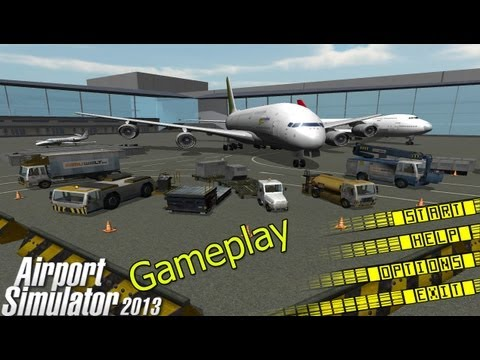 Airport Simulator 2013 Gameplay