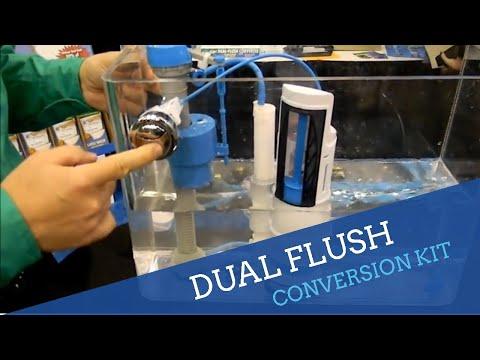 Dual Flush Toilet Converter
