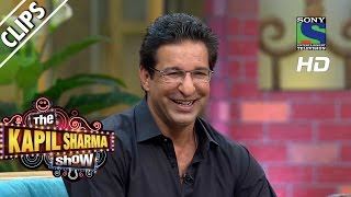 Wasim Akram's fanfare - The Kapil Sharma Show - Episode 4 - 1st May 2016