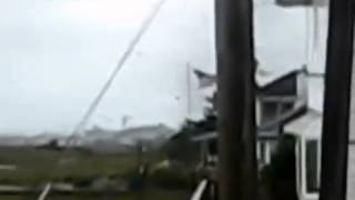 Raw; Queens New York city Tornado strikes
