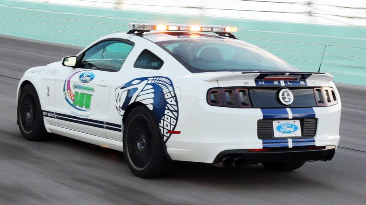 The One With The Pace Car At The Nationwide Series Finale