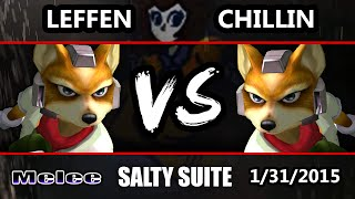 VGBC's Salty Suite - Leffen (Fox) Vs. Liquid Chillin (Fox) SSBM - Super Smash Bros. Melee