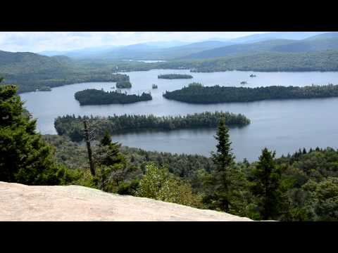 Castle Rock and Blue mountain lake - Adirondacks