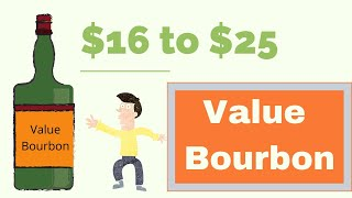 Value Bourbon: Blind Taste Off, $16 to $25 Bourbons