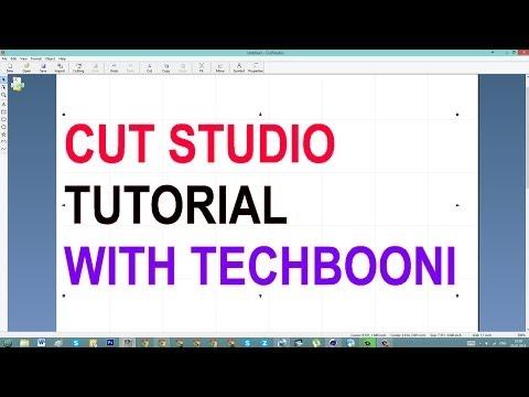 Roland Cut Studio Tutorial Covering Basics for Beginners