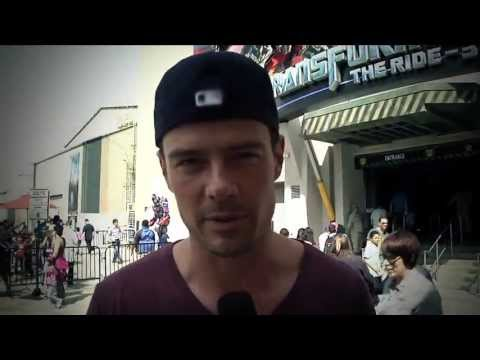 Josh Duhamel at Universal Studios Hollywood's