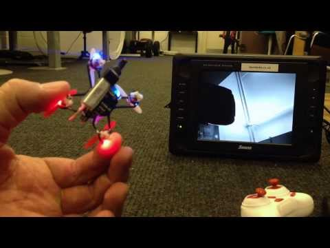 Worlds smallest micro micro FPV Quadcopter!!