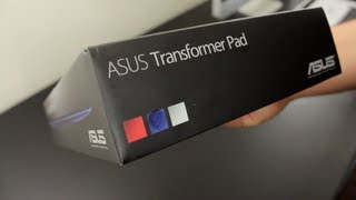 Asus Transformer Pad TF300 Unboxing/Overview
