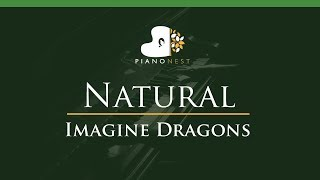 Download Lagu Imagine Dragons - Natural - LOWER Key (Piano Karaoke / Sing Along) Gratis STAFABAND
