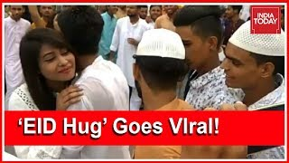 Fury Over UP Girl Hugging 50 Boys On Eid In Moradabad