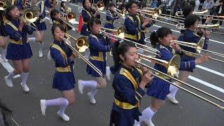 光のアートフェスタin 山科 オープニングパレード 京都橘高校吹奏楽部 Kyoto Tachibana Shs Band