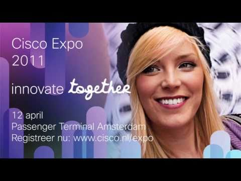 Innovate Together met Cisco tijdens de Cisco Expo 2011 in de Passenger Terminal Amsterdam