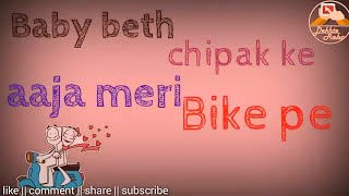 download lagu Aaja Meri Bike Pe Whatsapp Status New  Song gratis