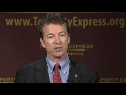 Tea Party Response to 2013 State of the Union Address: Rand Paul Argues for Less Government