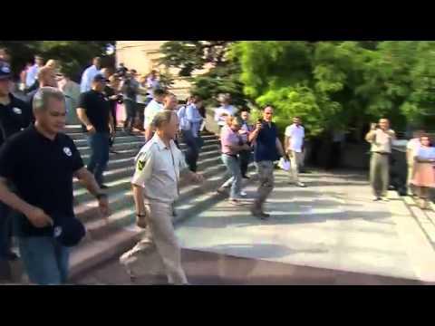 Ukraine crisis  Putin shows who is boss in Crimea   BBC News 1