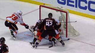 Calgary Flames at the Anaheim Ducks - April 15, 2017 | Game Highlights | NHL 2016/17