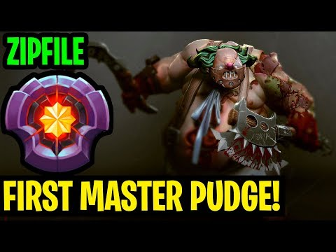 First Master Pudge In The World - Zipfile Pudge - Dota 2