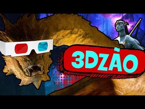 7 MELHORES FILMES PARA ASSISTIR EM 3D!