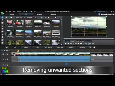 Video Editing Tutorial   CyberLink PowerDirector 12