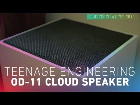 Teenage Engineering OD-11 Cloud Speaker hands-on