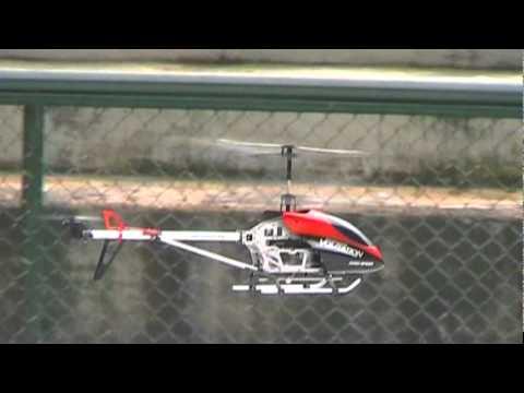 RC helicopter Double Horse 9053 Volitation en el Parque Nacional Bogota