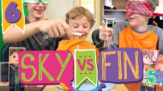 SKY vs FIN | EP 6 | The Fish Game!