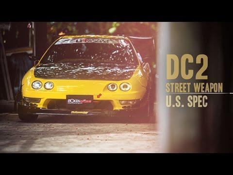 Honda Integra DC2 Street Weapon US Spec By BoxzaRacing.com