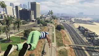 GTA V Unbelievable Crashes/Falls - Episode 22
