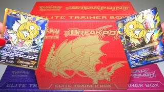 Opening: MEGA GYARADOS Elite Trainer Box - Pokemon BREAKpoint TCG Cards