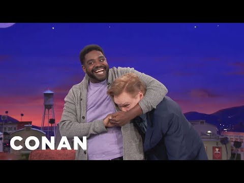 Ron Funches Is Taking Professional Wrestling Classes  - CONAN on TBS