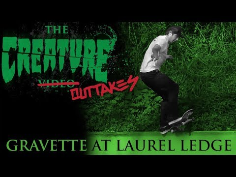 The Creature Video Outtakes: Gravette @ Laurel Ledge