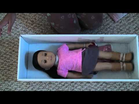 Opening My First American Girl Doll