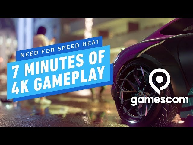 7 Minutes of Need for Speed Heat 4K Gameplay - Gamescom 2019 thumbnail