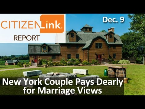 CitizenLink Report: New York Couple Pays Dearly for Marriage Views