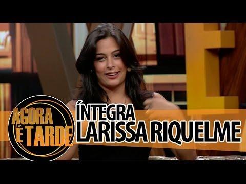 Agora é Tarde 04/07/2014 - Larissa Riquelme (íntegra)