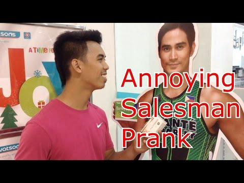 CongTV - Annoying Salesman - Pinoy Pranks